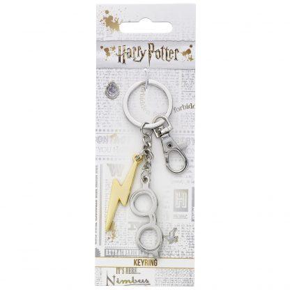 Harry Potter bril en bliksem sleutelhanger