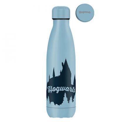 Harry Potter Drinkfles Hogwarts licht 500ml dubbelwandig